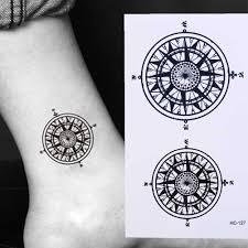 водостойкая временная татуировка наклейка черный дворецкий контрактный символ