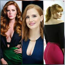 Amy Adams, Jessica Chastain, and Bryce Dallas Howard : Celebs