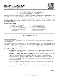 Sample Resume Project Manager Project Manager Sample Resume Format Templates Simple Cv For 20