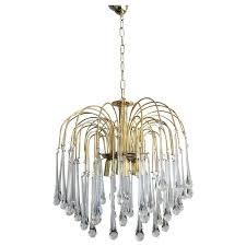 murano chandeliers vintage mid century chandelier teardrop crystals for murano chandelier for uk