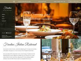 Wp Restaurant Themes Finedine Theme Sampression Themes