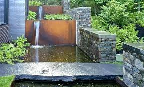 contemporary water features house contemporary water garden