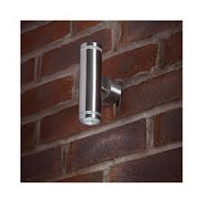 el 40080 outdoor led stainless steel up down wall light