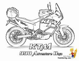 Cool Coloring Motorcycles Ktm 990 Adventure