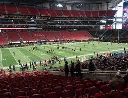Mercedes Stadium Seating Chart Atlanta Mercedes Benz Stadium Section 113 Seat Views Seatgeek
