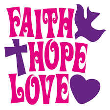 Faith Hope Love Clipart Interesting Love Faith Hope Quotes