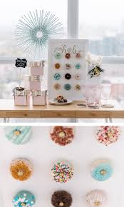 sweet diy donut display board for the holidays and beyond lorrie everitt studio