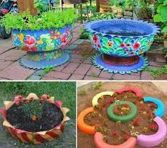 Как да озеленим двора си? Idei Za Gradinata Ot Gumi Za Zhenata