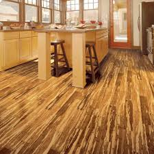 bamboo laminate flooring texture in brown colors design for kitchen interior full size