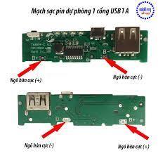 Shop bán Mạch Sạc Pin Dự Phòng 1 Cổng USB 2A -tặng kèm box 4