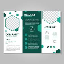 Tri Fold Brochure Layout Tri Fold Brochure Free Vector Art 7367 Free Downloads