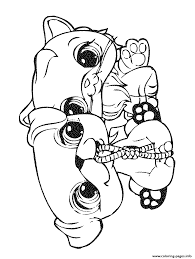 Small Picture littlest pet shop 4 Coloring pages Printable