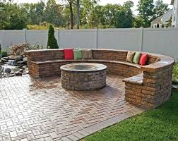 patio designs ideas patio ideas with curved brick seating outdoor patio design pictures uk