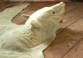 faux bearskin rug premium fur realistic shape gy fake carpet mat modern bear skin canada