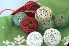 Make Decorative String Balls Inspiration Homemade Christmas Decor Ideas The Art Of Simple