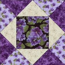 Debbie Beaves Lovely Purple Black Cream Floral Pansy Fabric Quilt ... & Debbie Beaves Lovely Purple Black Cream Floral Pansy Fabric Quilt Block KIT  CUT | eBay Adamdwight.com