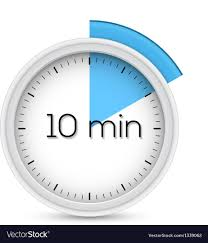 a 10 minute timer ten minutes timer royalty free vector image vectorstock