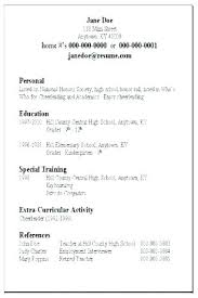 Example Basic Resume Inspiration Basic Resume Example Examples Best Of Easy Samples Free Template