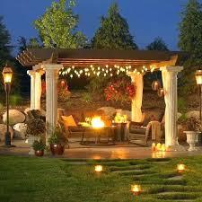 outdoor pergola lighting. Pergola Lighting Ideas Design Outdoor Garden Decking Gazebo String Best On Patio And . E