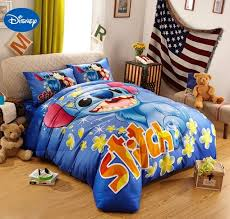 blue disney cartoon lilo disney king size bedding outstanding queen size bed