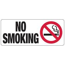 No Smoking Signage No Smoking Graphic Industrial Smoking Signs Seton School Safety