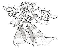 Project Fakemon: Mega Vespiquen | Pokemon, Cool drawings, Disney pictures