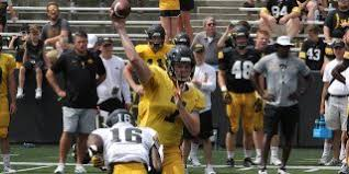 Iowa Hawkeyes Depth Chart Howe Thoughts Observations Iowas 1st In Season Depth