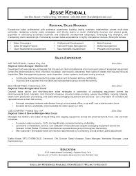 Sample District Manager Resume