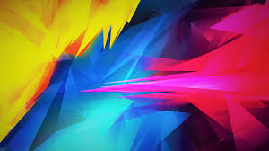 Blue Red Yellow Wallpaper Hd