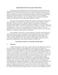 research policies and guidelines franciscan university of cover letter guidelines