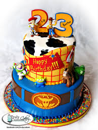 Boston And Lilys Toy Story Birthday Cake Cakecentralcom
