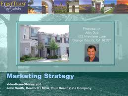 Sample Real Estate Agent Listing Presentation