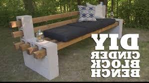 Photo 5 of 5 DIY Cinder Block Bench - YouTube (wonderful Cinder Block Couch  #5)