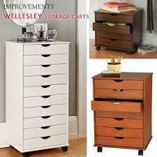 office rolling cart. Bedroom Decor Ideas Plus Wellesley Rolling Storage Cart Can Be Used In Just About Any Room Using Office Closet L