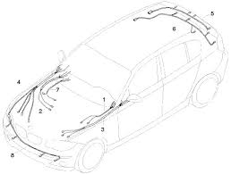 2009 bmw 128i main cable harness and wiring diagram