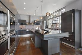 contemporary kitchens with dark cabinets. Modern Grey Kitchen Cabinets. These Dark Cabinets Are The Absolute Height Of Contemporary Kitchens With