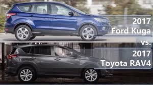 2017 Ford Kuga vs 2017 Toyota RAV4 (technical comparison) - YouTube