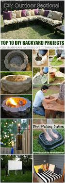 Diy Yard Projects Best 25 Diy Backyard Projects Ideas On Pinterest Diy Cooler