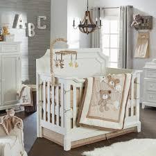 Koala Baby B is for Bear 4-Piece Crib Bedding Set - Tan