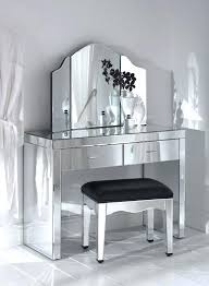 mirrored vanity tables alluring mirrored makeup vanity table rustic white glaze vanity table dresser with frame three mirrored vanity table canada crescent