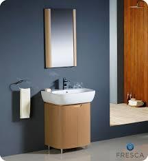 fresca andria light oak modern bathroom vanity