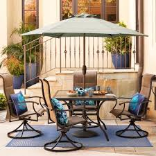 Shop Style Selections Elliot Creek <b>7</b>-<b>Piece</b> Patio <b>Dining Set</b> at ...