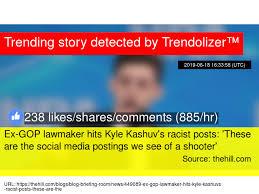 Ex Gop Lawmaker Hits Kyle Kashuv 039 S Racist Posts 039