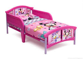 Minnie Mouse Bedroom Accessories Minnie Mouse Plastic Toddler Bed Delta Childrens Products