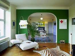 rooms sharing the same walls with paint