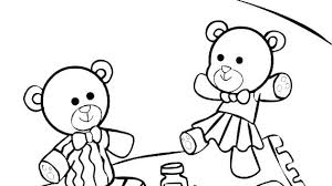 Teddy Bear Holding A Heart Coloring Pages Love Printable Free With