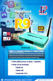 Smart Box Tivi Box BEST TV-R10 - Thiết Bị Camera - Công Nghệ