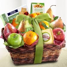 cheese and nuts delight fruit basket 44 95