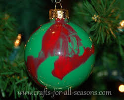 Decorating Christmas Ornaments Balls Swirled Ornament 47