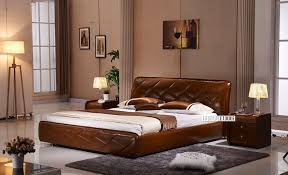 italian leather furniture stores. Picture Of LAVELLO Genuine Italian Leather Bed In QUEEN/KING Furniture Stores